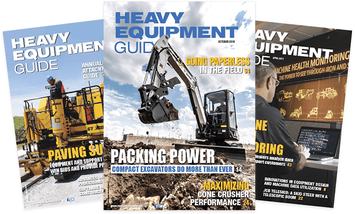 Get your cover of Heavy Equipment Guide
